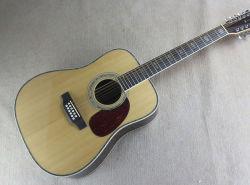 12 Cordes D45 41 pouces de KSG de Guitare acoustique Guitare électrique acoustique Dreadnought Chartin électrique du corps de Guitare acoustique folk Classial OEM corps en bois de rose
