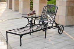 Lounger vivente esterno del Chaise del bronzo dell'oggetto d'antiquariato della fusion d'alluminio di Elisabeth