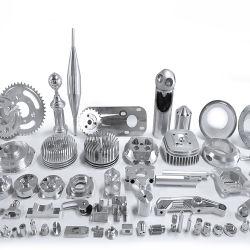 Kundenspezifische hohe Präzision CNC-maschinell bearbeitenservice-Aluminiumteile, die mit der Anodisierung prägen