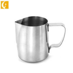 Высокое качество молока из нержавеющей стали Pot/кофе чашки из пеноматериала кувшин/Creamer кувшин потянуть за ручку, чашки цветов