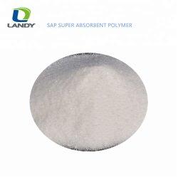Materia prima dei tovaglioli sanitari di memoria eccellente femminile di capacità di assorbimento del sodio Polyacrylate CAS 9003-04-7 della linfa