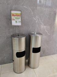 Gym를 위한 스테인리스 Steel Wet Wipes Dispenser