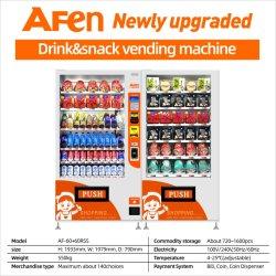 Afen の最もよい供給者はジュースのコンボベンディング機械を飲むアルミニウム缶
