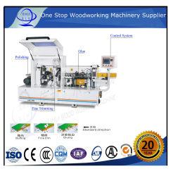 آلة زخرفة الحافة آلة قطع الحافة المستديرة العادية MDF آلة زخرفة الحافة المستديرة للأثاث المعالجة مع ماكينات إزالة الحافة PVC اللاصقة مزدوجة الجانب