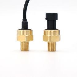 液体測定のための低価格のコンパクト10棒0.5-4.5V真鍮圧力センサー