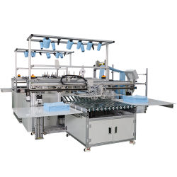 Fabrik-Verkaufs-automatisches Tuch-faltende Maschine, automatische Maschinen, die Küche-Tücher bilden