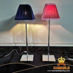 Lampada classica della Tabella del tessuto di stile del Guestroom dell'hotel (KAF01-P&B)