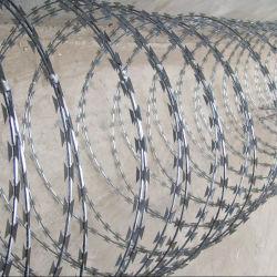 Recinto di filo metallico a fisarmonica del rasoio di protezione (BTO-22)
