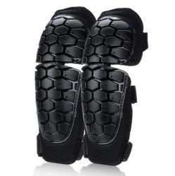 Motocicleta Shin Pad protectores de codo la rodilla rodillera Protector de Esquí Equitación Gear