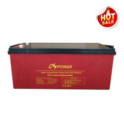 Longue durée Cspower-20ans 12V-200ah-VRLA-Cycle-Gel Rechargeable-Deep-Storage Battery/Solar-Battery/UPS-Batterie/Batterie/Acid-Battery Inverter-Storage-