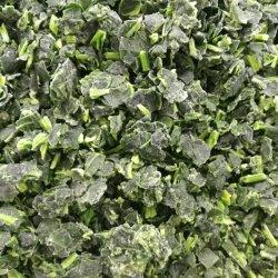 Top Vendita alta qualità surgelati IQF Spinach Cut