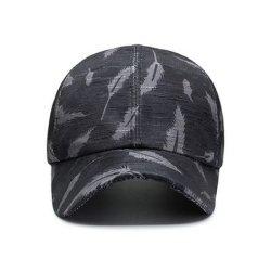 High Quality Custom Outdoor Fashion نمط Feather طباعة بيسبول جميلة الغطاء