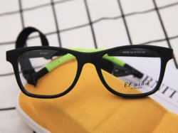 Recicle Prasinous Green Funny Tr crianças óptica de vidro de óculos para 6-10 anos de idade estudantes