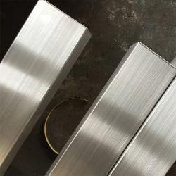 ASTM SS 201 304L 316 316L 430 스테인리스 스틸 튜브 이음매 또는 용접된 원형/사각형/직사각형 튜브