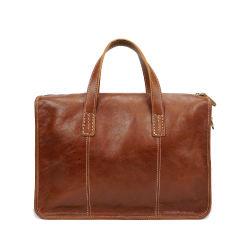 Fabricante de expertos de la capa superior de diseño de estilo clásico maletín de cuero brillante