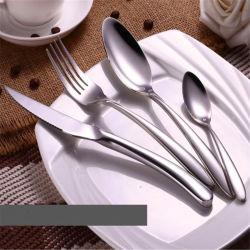 Nueva Vajilla de acero inoxidable 304 Western Hotel Steak cuchillo tenedor cuchara regalos vajilla portugués Logotipo personalizado