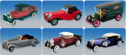 1: 32 Die-Cast 차, 모형 포도 수확 차량, 모형 구시대 차
