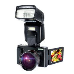 最大44MP CMOSセンサー2.88インチスクリーンのコンパクトのデジタルカメラの写真の専門のカメラ2.7K 1080Pのビデオ