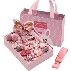 18 Stück-Haar-Zubehör der Geschenk-Kasten-Verpackungs-Kinder
