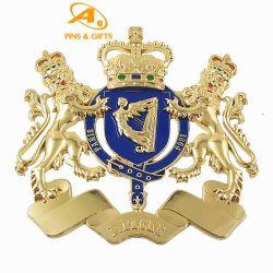 많은 국가 깃발 금속차 스티커가 주식 싼 가격에 알루미늄 엠블렘 소형 사이즈 맞춤형 로고