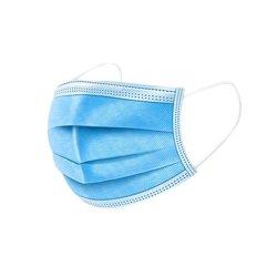 De beschikbare Filter maskeert 3 Maskers van het Stof van de Schoonheid van het Comfort van Breathability van de Lijn van het Oor van de Vouw