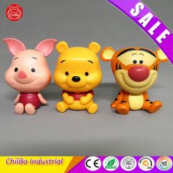 Chaveiro plástico fábrica OEM Brinquedos Animal Figuras
