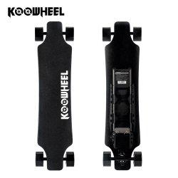 La fibre de carbone 4 Conseil de la rue à double moteur de roue de skateboard électrique