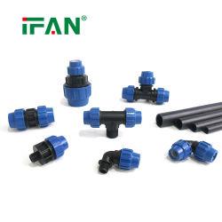 IFAN PE elleboogadapter Compressiepijpfitting PE/PPR/PP/MDPE/HDPE pijpfitting Voor irrigatiesysteem