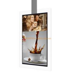 Los lados de 43 pulgadas de doble pantalla LCD de pantalla LCD de la estación de autobuses