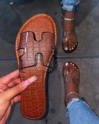 新しい女性靴のサンダル、卸し売り女性のスライドのスリッパ、女性のための平らな靴