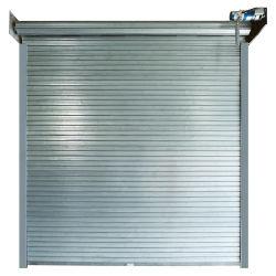 Garagem Porta de Rolagem automática de rolo corta-fogo com Obturação por Sorriso