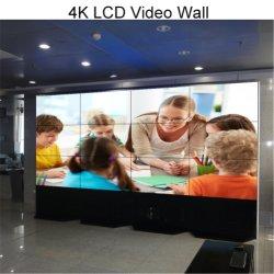 광고 디스플레이 보드 46인치 울트라 씬 베젤 LCD 비디오 월 LED 백라이트 선반 디지털 광고 WiFi 3G Vedeos 높음 고품질 광고 플레이어 Android 미디어 플레이어