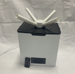 中国の製造者1.8Lの小型ホーム加湿器の低雑音のスマートなぼやける機械
