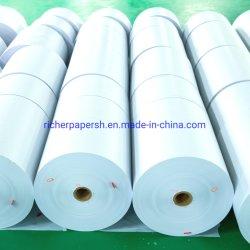 Высокое качество 50 GSM белой крафт-бумаги для бумажных мешков для пыли