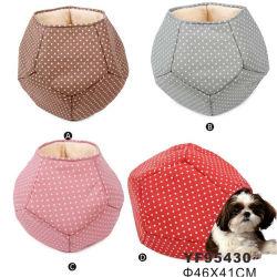 Venta caliente algodón corto cachorro mascota de la casa más caliente de cama para perro