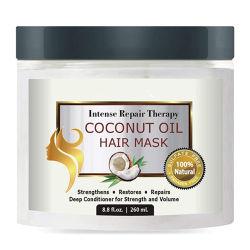الطبيعية والبيو زيت جوز الهند قناع الشعر خاص التسمية Keratin الشعر معالجة العناية بالبشرة