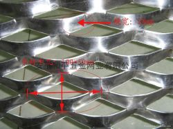 Maglia ampliata alluminio (Expanded002)