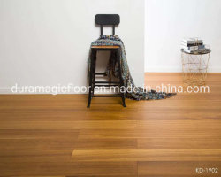 Couleur de la nature de la Birmanie le teck Engineered Wood-de-chaussée Three-Layer Woodfloor Parquet large planche