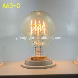 Эдисон лампы A60 40W 60W вертикального провода лампы Edison Group