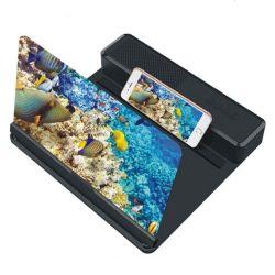 3D Enlarge Screen Pantallas 휴대폰 휴대폰 돋보기 USB 포트