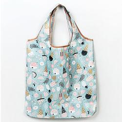 Машинная стирка складные сувениры, водонепроницаемый складные женская сумка, полиэстер складные сувениры, продвижения по службе складные женская сумка