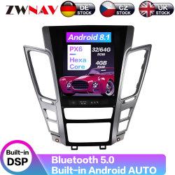 Lecteur de DVD de voiture pour Cadillac CTS 2007-2012 Android 9.0 Style 64GO Tesla autoradio lecteur multimédia de navigation GPS de l'unité de tête