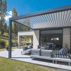 AluminiumGazebo mit wasserdichtem Luftschlitz-Dach