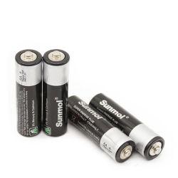 좋은 품질의 아름다운 외형 1.5V AA를 갖춘 Sunmol 배터리 크기 R6 배터리