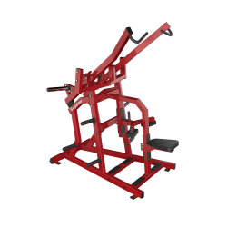 Commerciële ISO-Zij Brede Pulldown Geschiktheid voor de Apparatuur van de Gymnastiek van de Oefening van de AchterSpier
