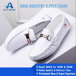 New Fashion Design Moccasin Venda Quente com elevado grau de vaca calçados de couro para homens, Loafers Equipamento
