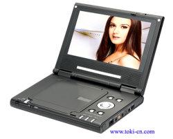 7 polegada de DVD Portátil com TV, MP3, MP4, USB, SD