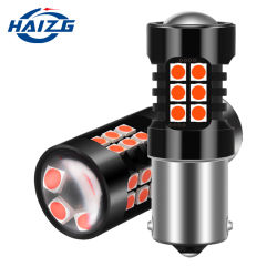 Haizg Car CANbus 1156 1157 T20 Ba15y SMD LED-stop Remlicht