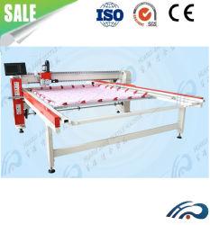 Tête simple informatisé Quilting Machine / Coton Machine à coudre de la Courtepointe / lit en duvet Quilting matelassage Mains libres de la machine La machine pour le vêtement de mode