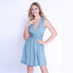 Nuovi vestiti di modo del vestito dal denim di esplosione 2020 per i vestiti dalle donne